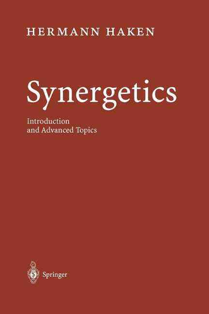 Synergetics By Haken, Hermann